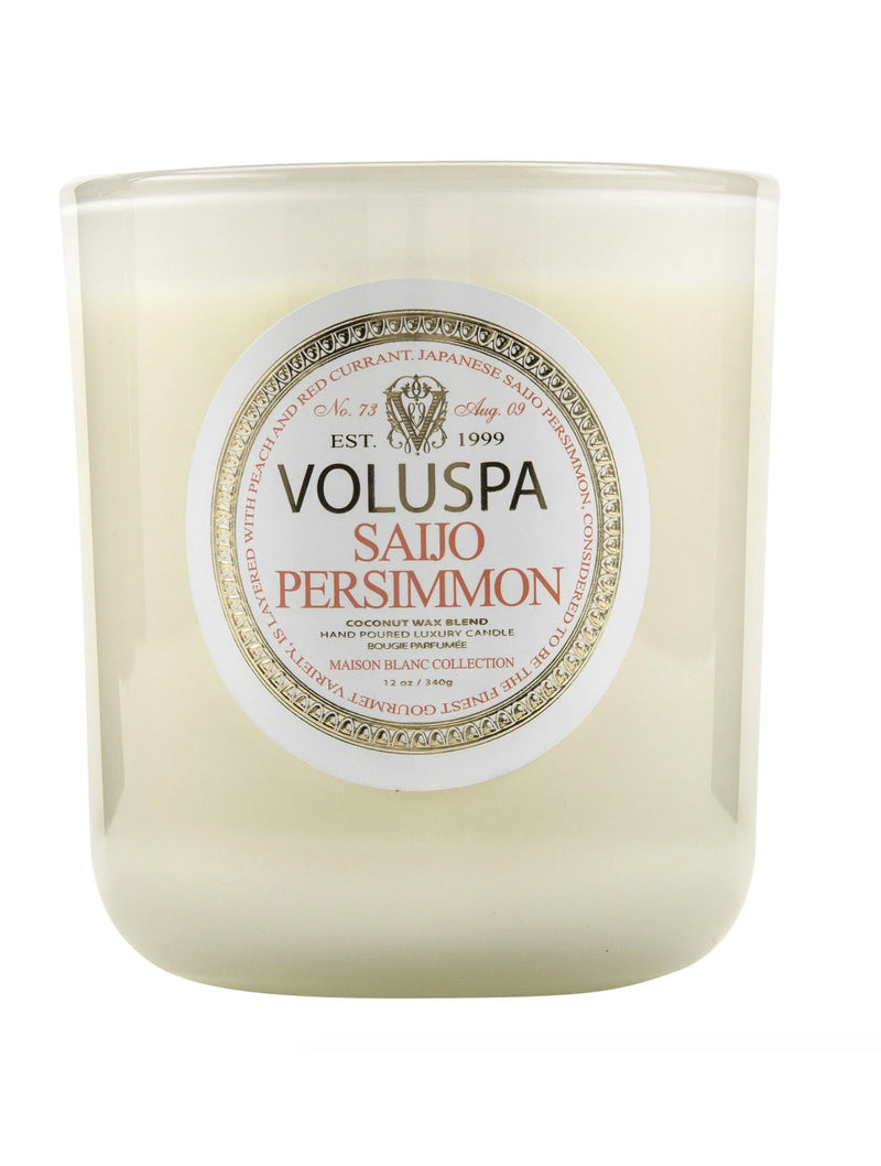 Voluspa Boxed Candle in Saijo
