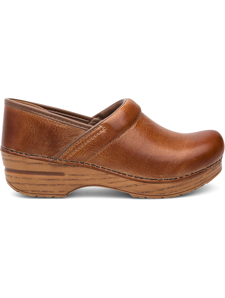 Dansko Professional Clog Shoe in Honey Distressed