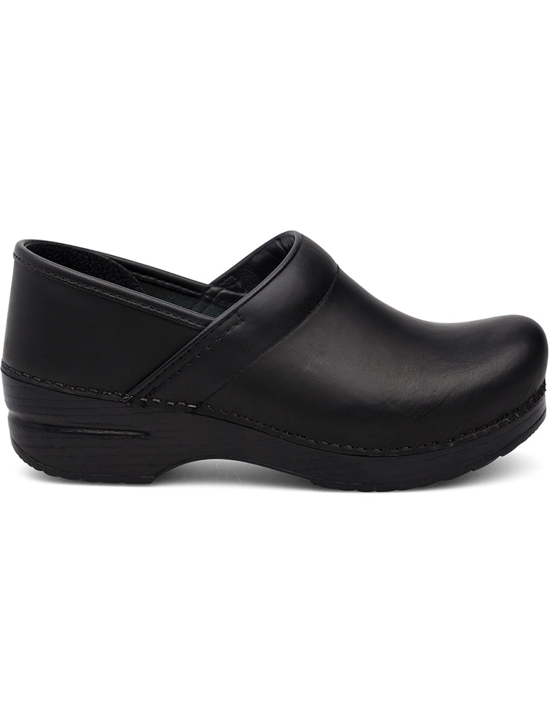 Dansko Professional Clog Shoe in Black Cabrio