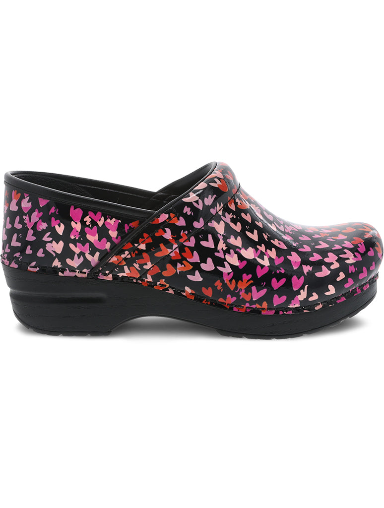 Dansko Professional Clog Shoe in Tiny Heart