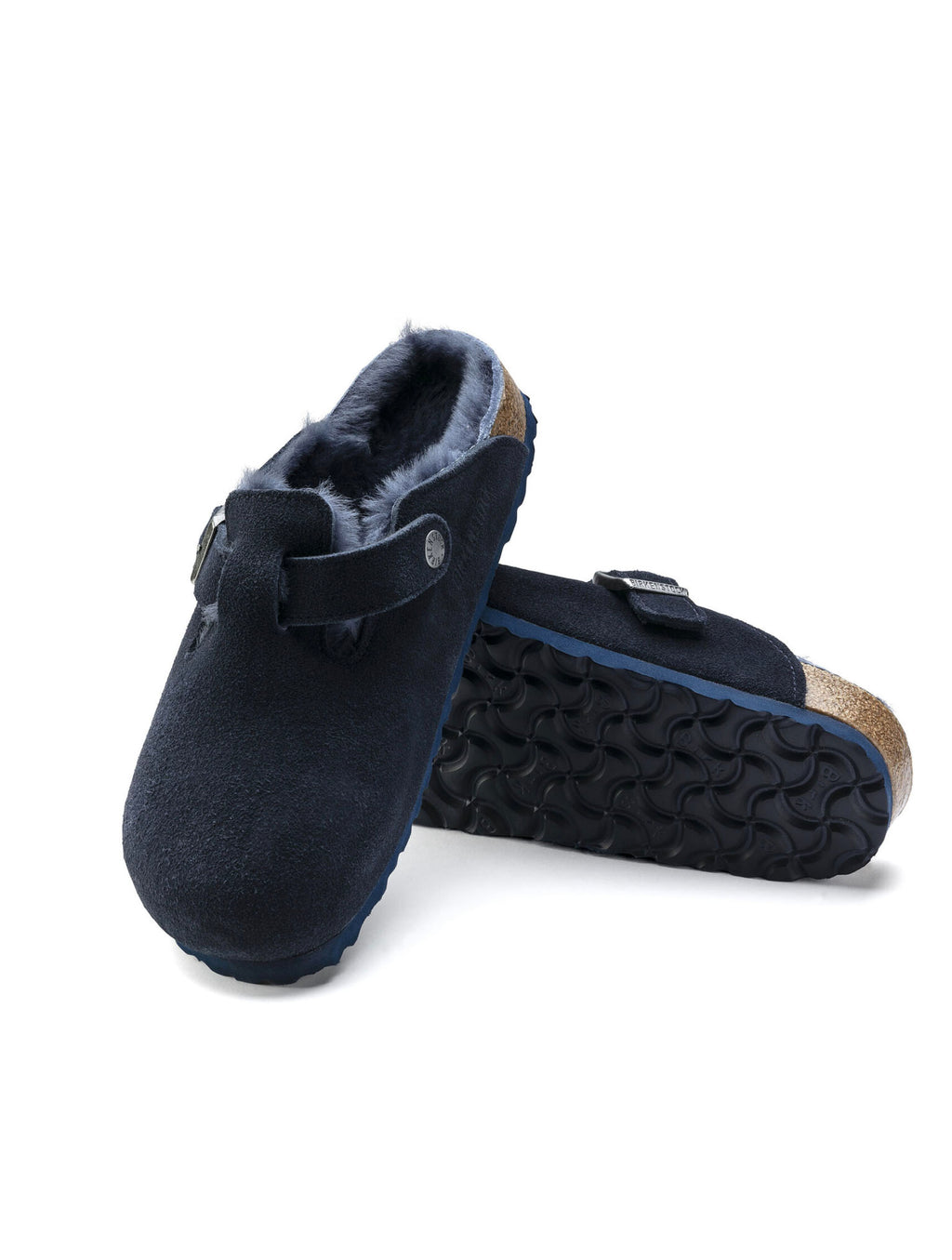 Birkenstock Boston Shearling in Night