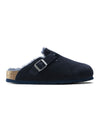 Birkenstock Boston Narrow Shearling in Night