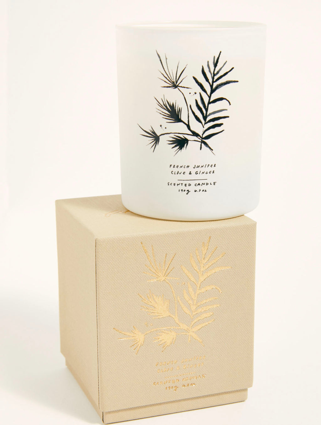 Free People Candle in Juniper & Clove