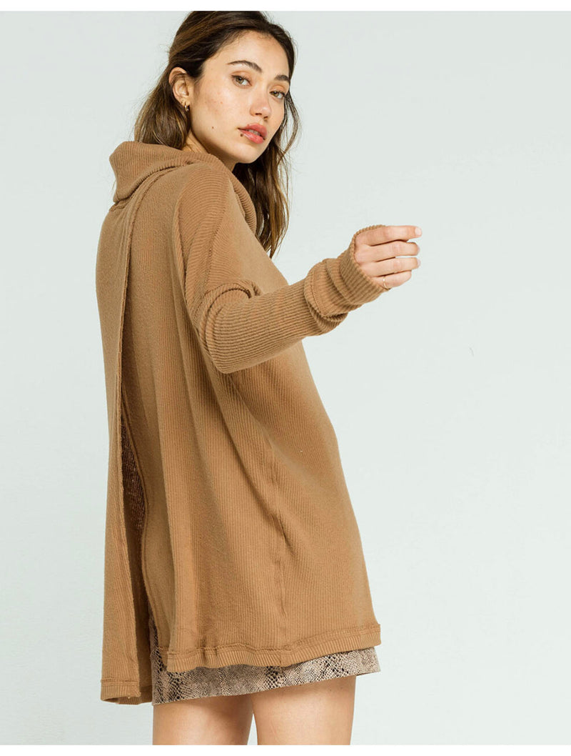Free People Juicy Sweater in Bronze