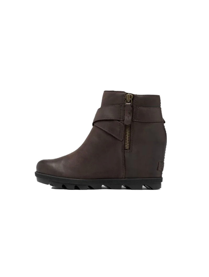 Sorel Joan of Arctic Buckle Wedge in Blackened Brown