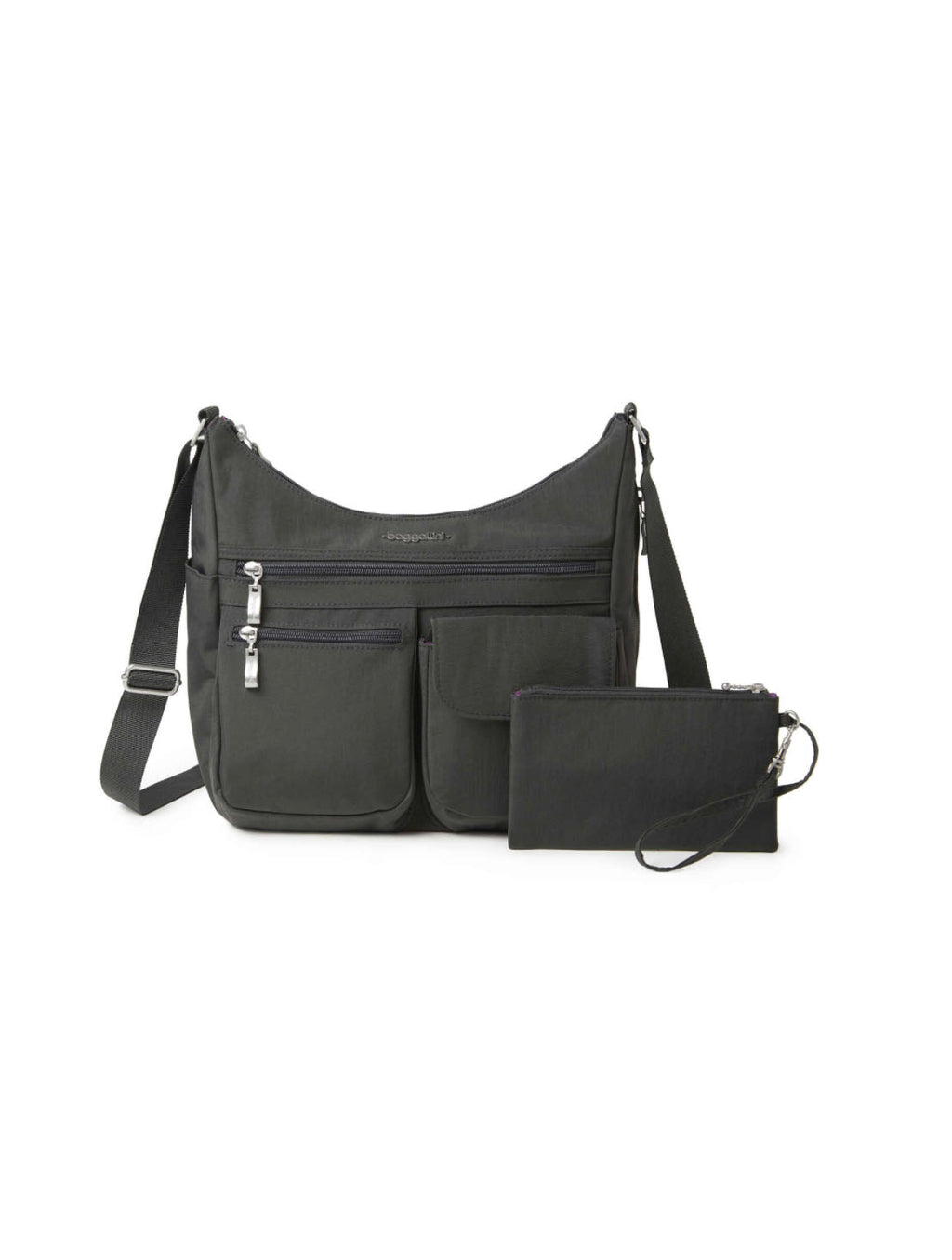 Baggalini Everywhere Bag in Charcoal