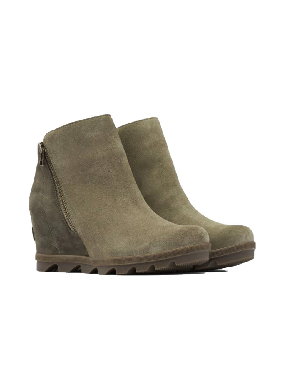 Sorel Joan Of Arctic Wedge II Zip in Sage