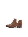 Sorel Lolla II Cut Out Bootie in Tan
