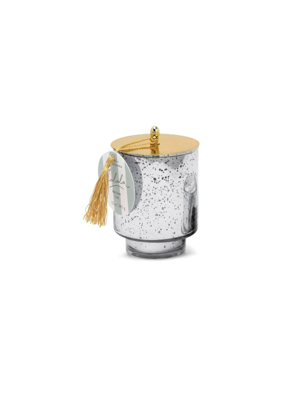 Paddywax Tinsel Large Candle in Balsam Fir