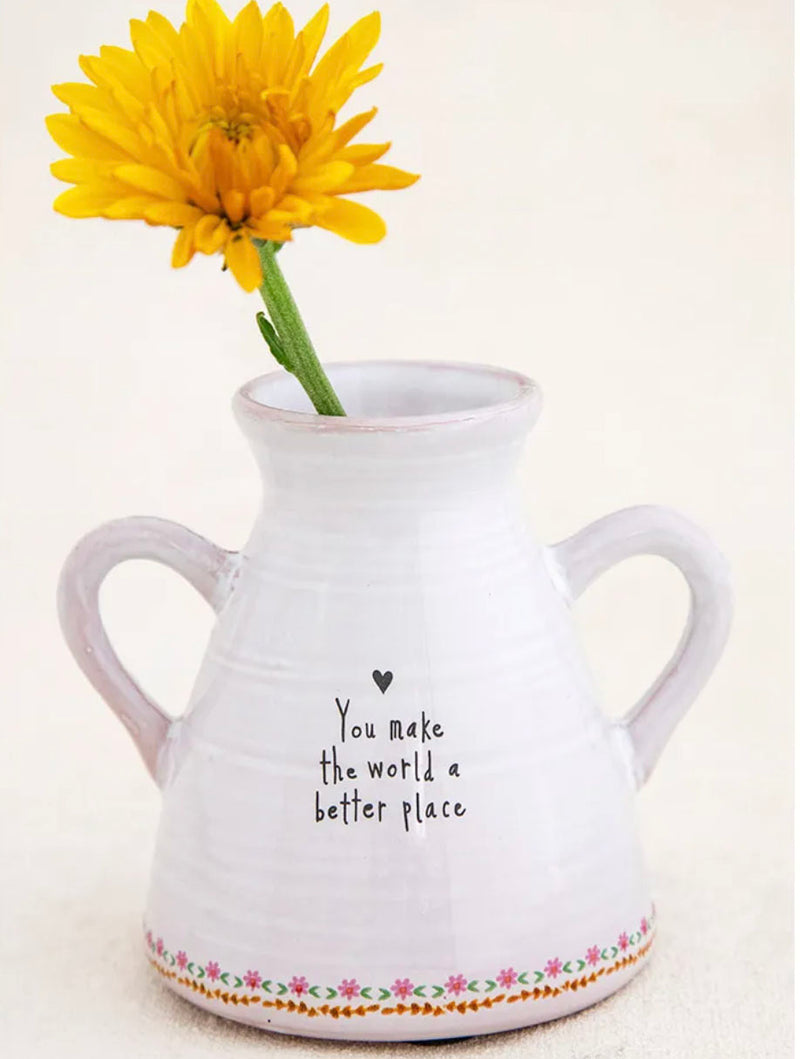 Natural Life 'Better Place' Vase