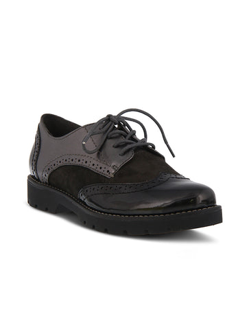 Sofft Britton II Sport Bottom Leather Mid Sneaker Shoe in Black