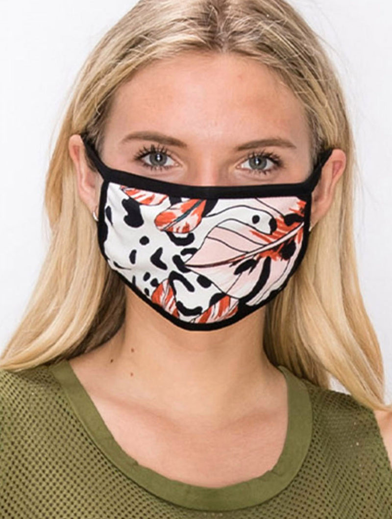 Coin 1804 Face Mask in Surprise Botanical Print