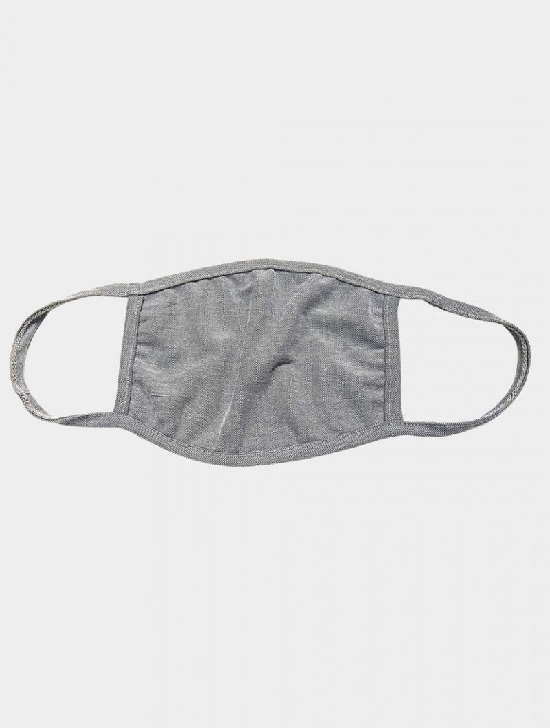 Coin 1804 Cotton Mask in Heather Grey