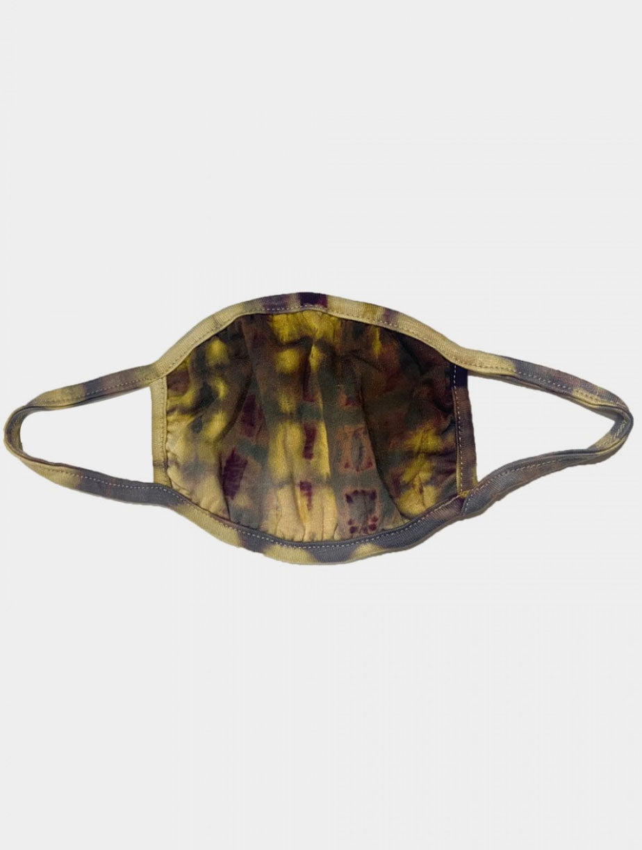 Coin 1804 Cotton Mask in Olive/Grey/Eggplant