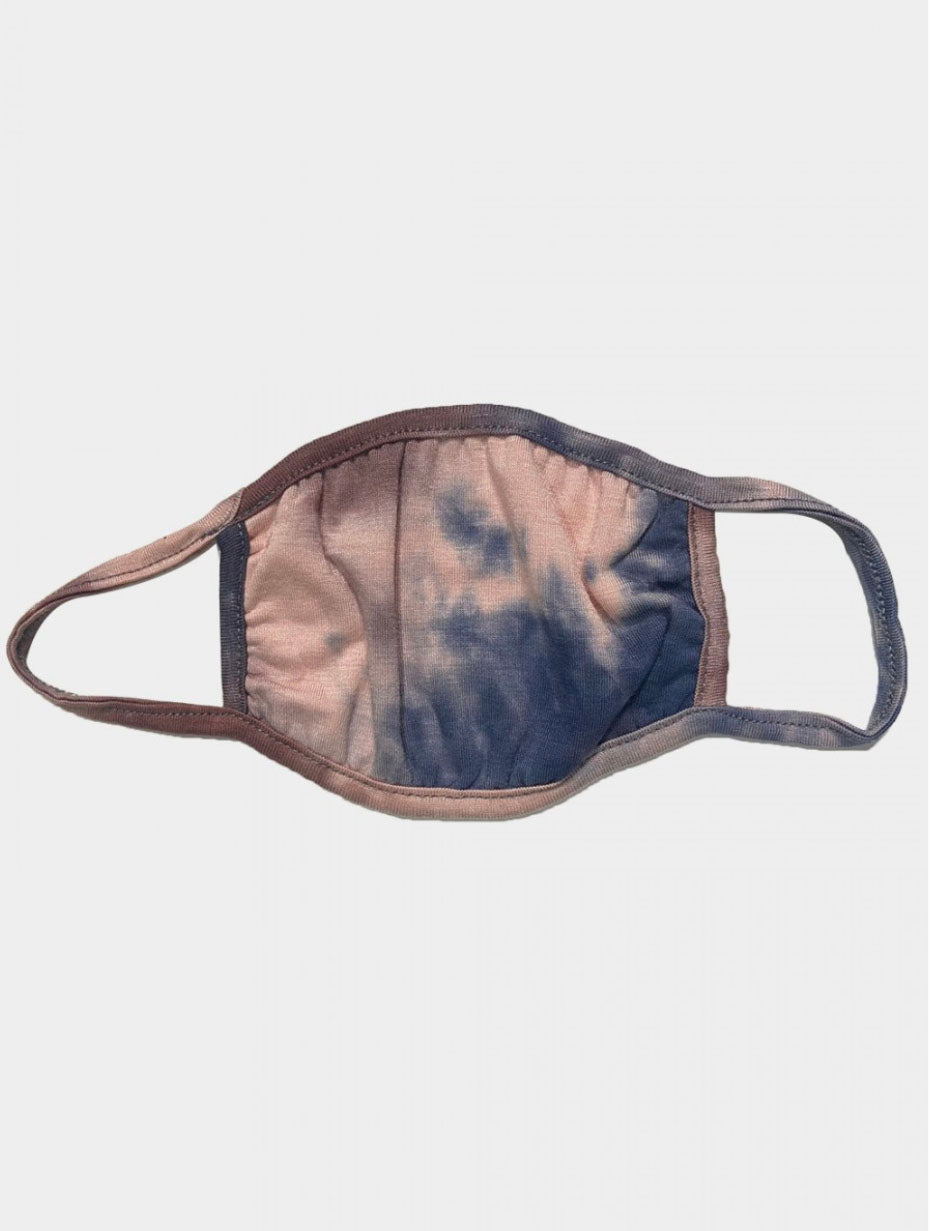 Coin 1804 Face Mask in Coffee Tie Dye