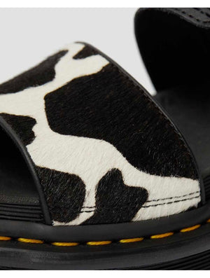 Dr. Martens Voss Sandal in Cow Animal Print