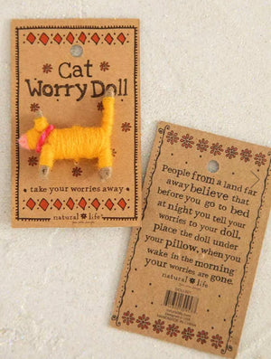 Natural Life Cat Worry Doll