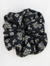 Natural Life Super Scrunchie in Black/Cream
