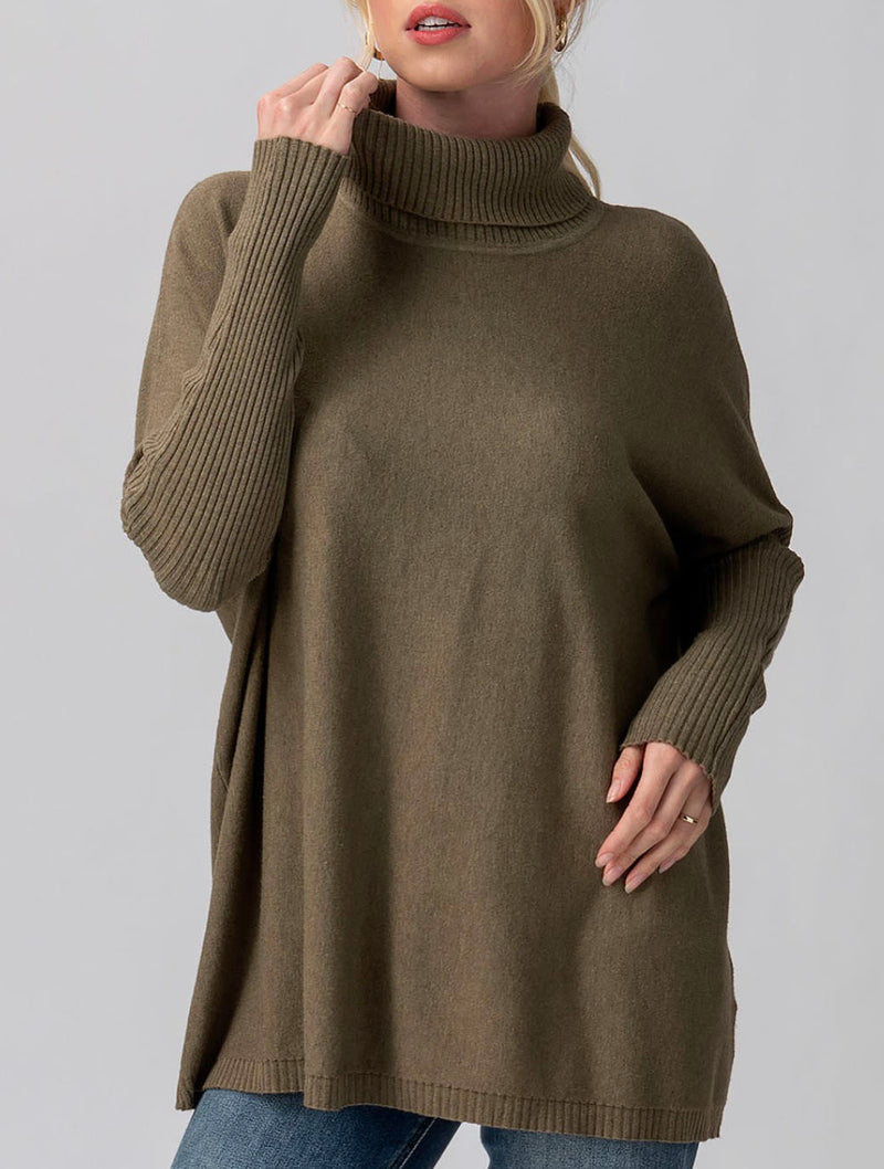 Trend Notes Turtle Tunic in Olive