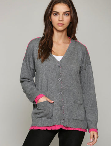 RD Style Knit Poncho in Grey – JAYNE Boutique