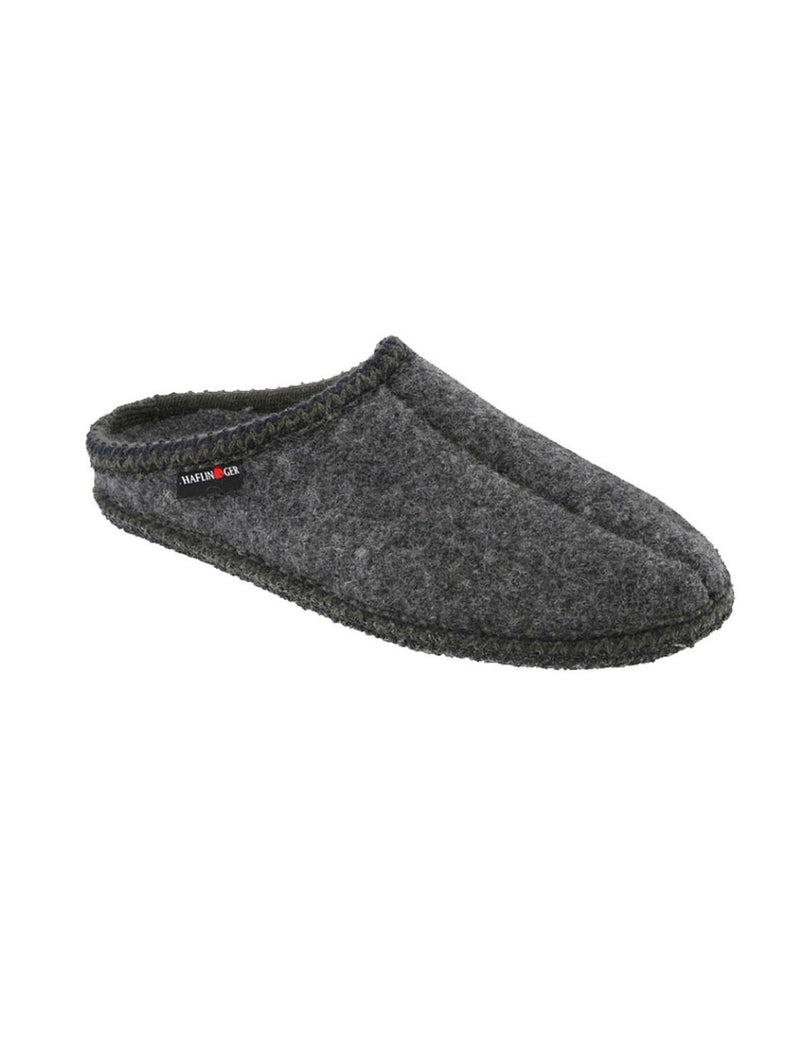 Haflinger AS7 Classic Wool Slipper in Anthracite