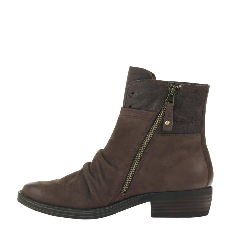 YOKEL in DARK BROWN, left view