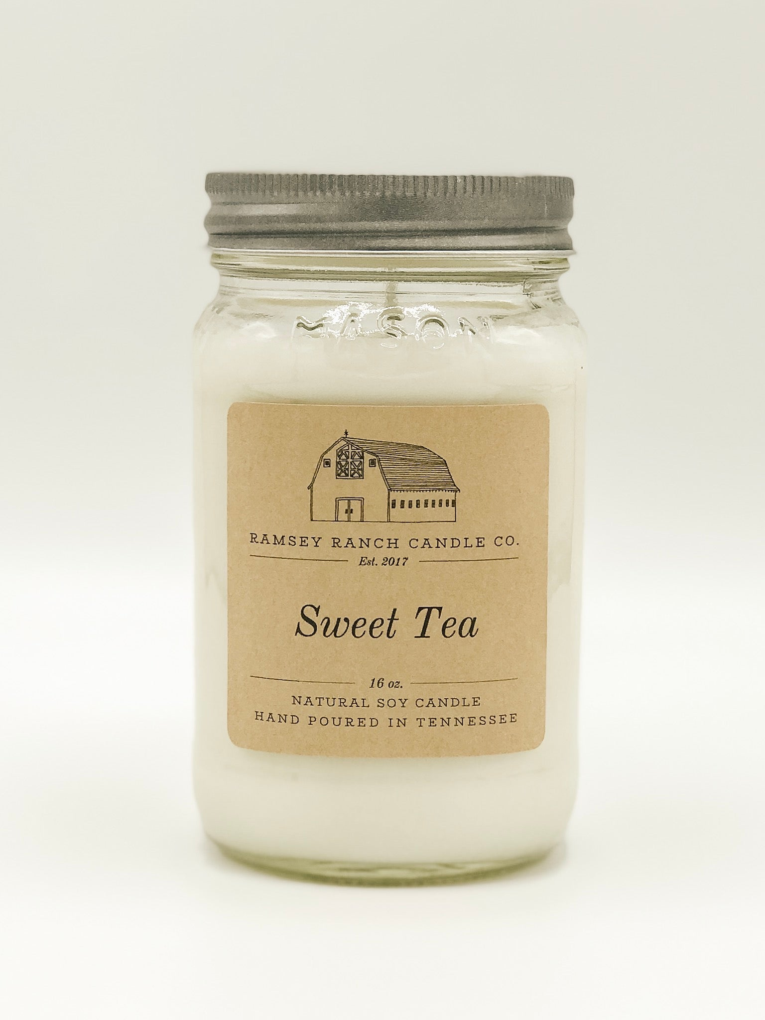 Sweet Tea 16 oz Mason Jar
