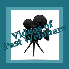 Webinar Videos Information and Purchase