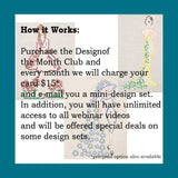 Design of the Month Club Pre-Pay 3 Months