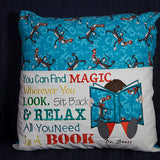 Book Pillow Designs