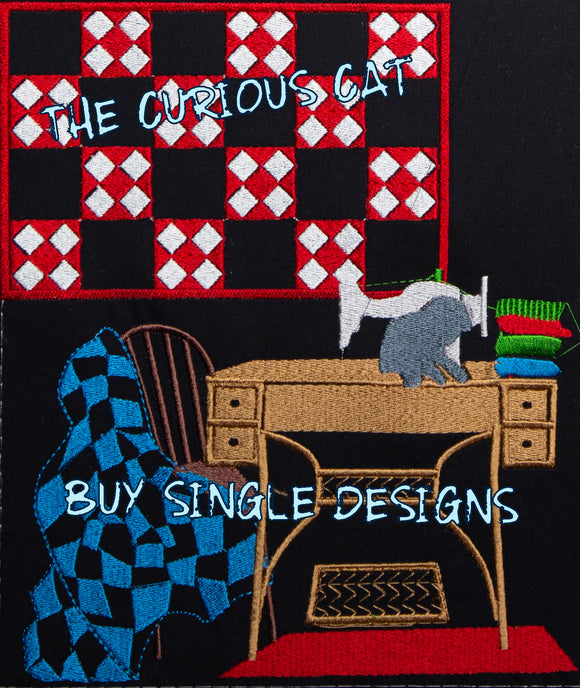 Curious Cat - Single Designs