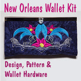 Wallet with New Orleans Design