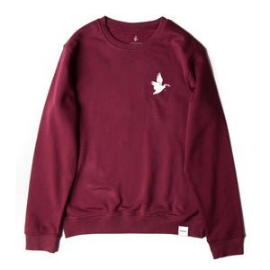 allgoose original crewneck / maroon