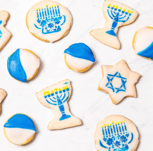 Hanukkah Seasonal Cookies