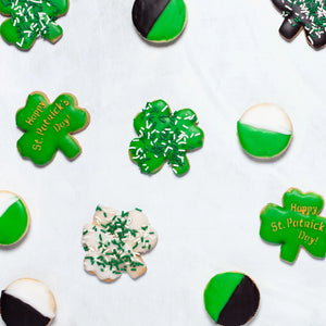 St Patrick's Day Seasonal Cookies