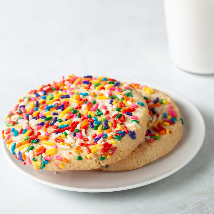 Gluten Free Sprinkle Sugar Cookie