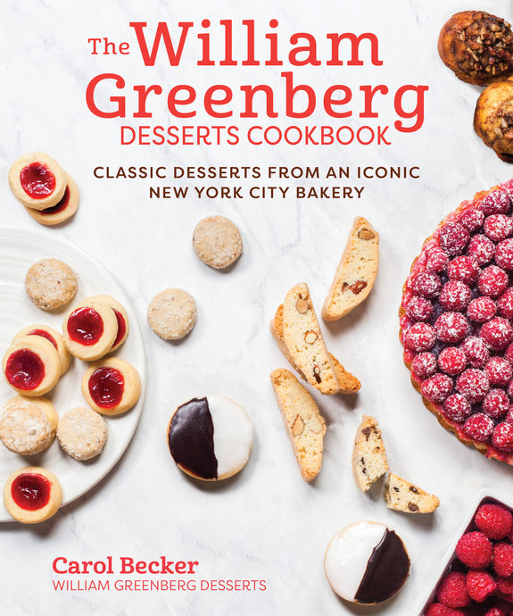William Greenberg Desserts Cookbook
