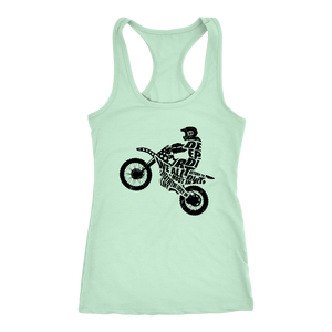 Origins of Happiness Razorback Tank Lil Lady