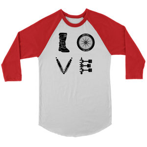 Dirty LOVE 3/4 sleeve | Deep Dirt