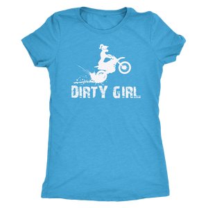 Dirty Girl Lil Lady Premium TriBlend Tee
