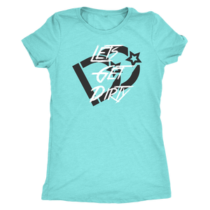 Lil' Lady Lets Get Dirty Premium Tee DD | Deep Dirt