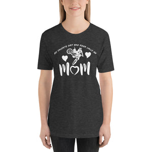 Mothers Day Deep Dirt Favorite Rider TEE Black