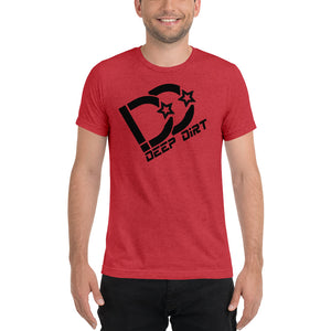 Customize your name and number Men's Deep Dirt Logo Tee