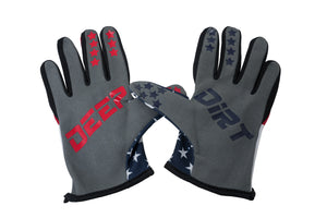 2021 Deep Dirt Mx Glove Shock And Awe