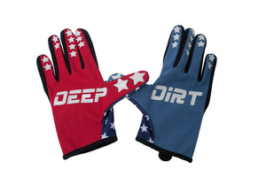 2020 Deep Dirt Mx Glove Freedom Stars