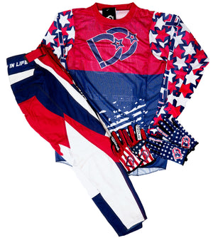 2020 Deep Dirt Jersey Hangtime Red/Blue