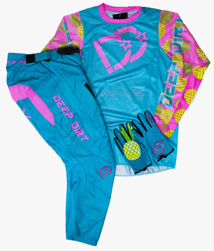 2021 Deep Dirt Mx Glove Cotton Candy Pineapple