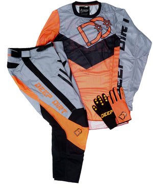 2020 Deep Dirt Mx Glove Team Orange