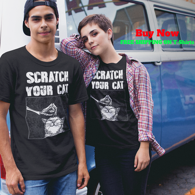 Scratch Your Cat Short-Sleeve T-Shirt