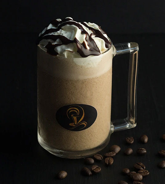 Chocolate and Coffee Breakfast Smoothie with Yogurt